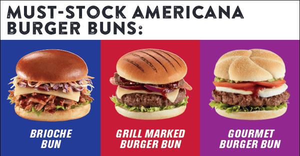 Must Stock Gourmet Burger Buns