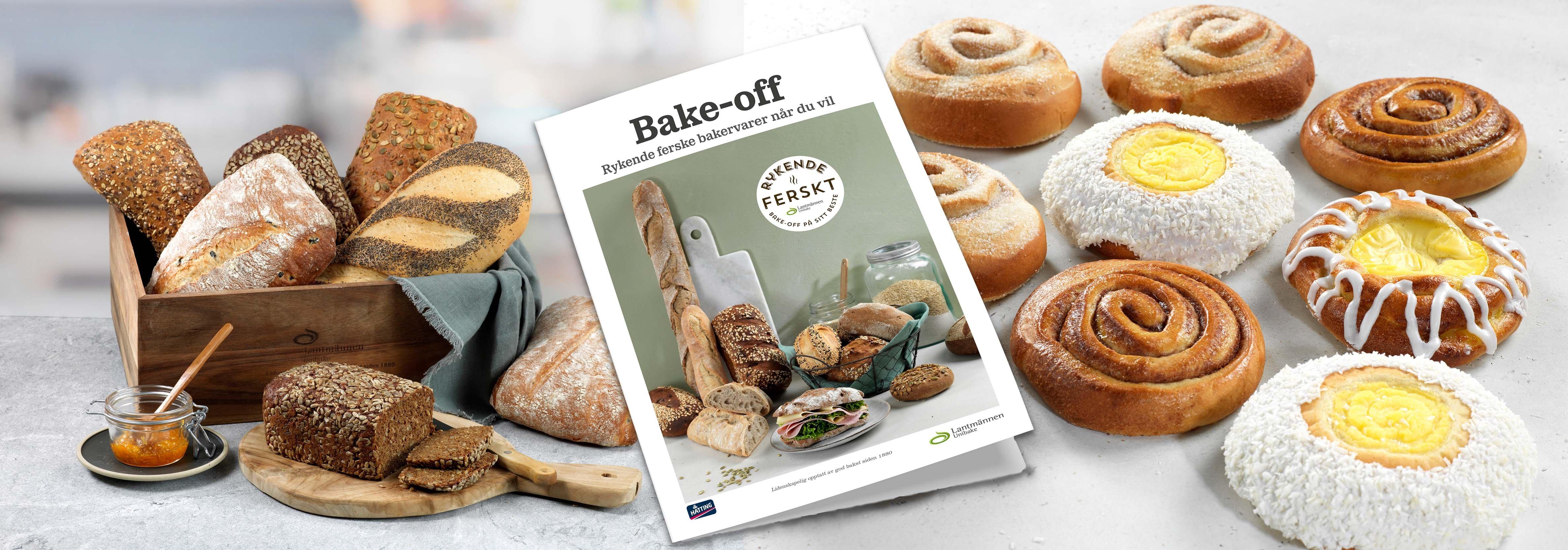 Bake-off rykende ferske bakervarer