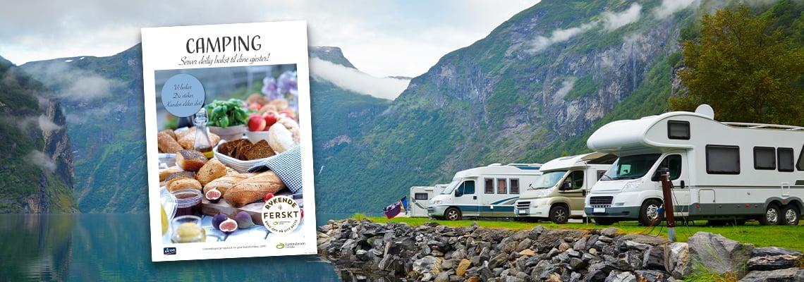 Bakst på Camping